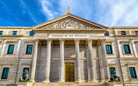 議会議員のマドリード - スペインの建物 写真素材