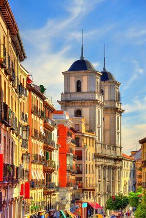 san isidro: The church of San Isidro el Real in Madrid - Spain