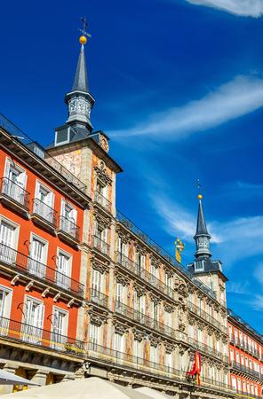 Casa de la Panaderia on Plaza Mayor in Madrid - Spain
