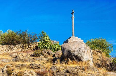 Cross on a hill near Toledo - Spain, Castilla-La Mancha