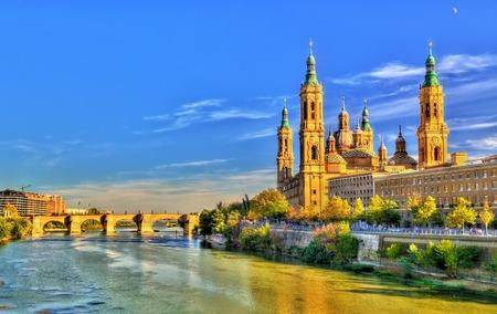 Basiliek van onze lieve vrouw van de pijler in Zaragoza, Spanje