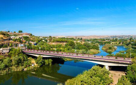 Puente de la Cava, a bridge in Toledo - Spain