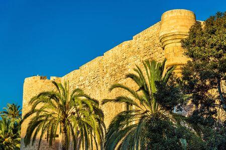 View of Castillo-Palacio de Altamira in Elche - Spain Stock Photo