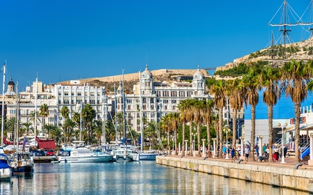 Promenade in the Marina of Alicante - Spain