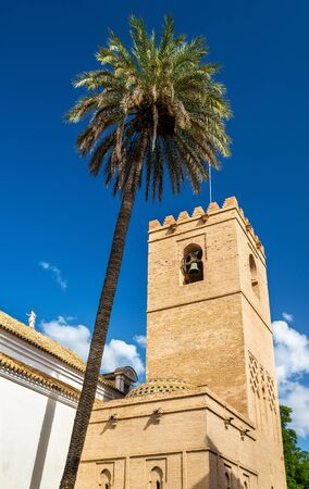 grenada: Church of Santa Catalina in Seville - Spain, Andalusia Stock Photo