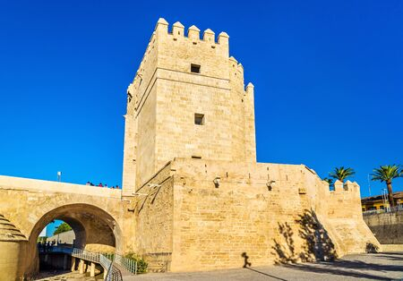 Calahorra Tower, a fortified gate in Cordoba - Spain, Andalusia