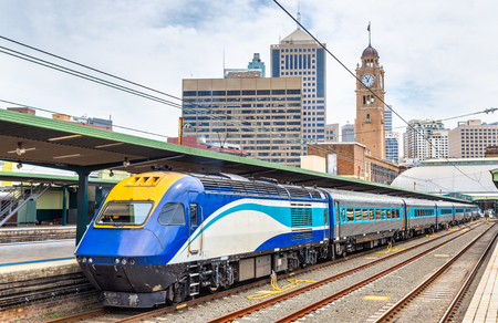 Canberra: Express train to Canberra at Sydney Central Station