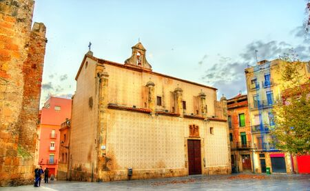 Nazareth Church in Tarragona, Spain Stock Photo