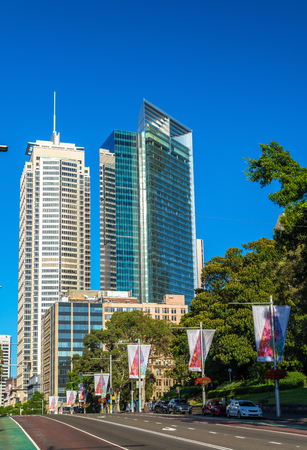 Buildings in the Sydney central business district, Australia