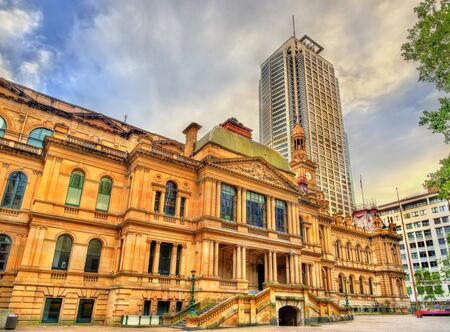 The Sydney Town Hall in Australia. Built in 1889
