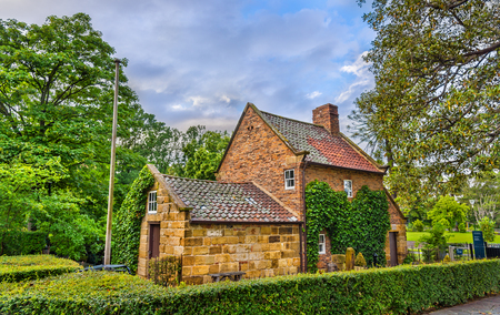 Captain Cooks Cottage in Fitzroy Garden - Melbourne, Australia
