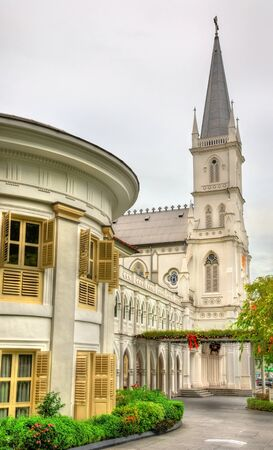 previously: CHIJMES Hall, previously Convent of the Holy Infant Jesus - Singapore