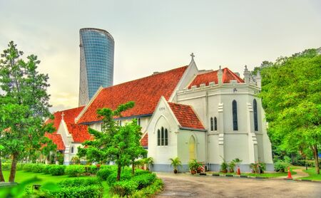 St. Mary Anglican Cathedral in Kuala Lumpur, Malaysia