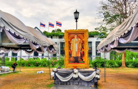 Mourning for King Bhumibol Adulyadej in Bangkok, Thailand