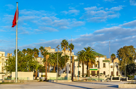 Square of Mohammed V in Casablanca, Morocco
