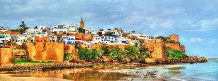 Kasbah der Udayas in Rabat, Marokko Standard-Bild - 73419908