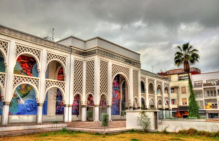 Mohamed VI Museum of Modern and Contemporary Art in Rabat, Morocco