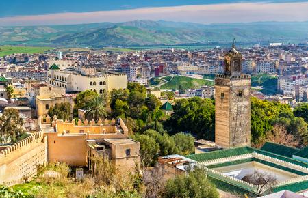 Moskee bij Bab Guissa Gate in Fez, Marokko