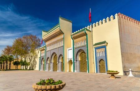 fes: Dar El-Makhzen, the Royal Palace in Fes, Morocco
