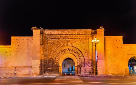 Bab Agnaou, Marrakesh, 모로코의 19 개 문 중 하나
