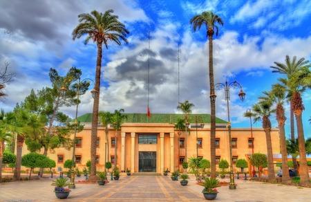 City hall of Marrakesh, Morocco
