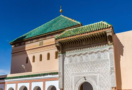 Zaouia de Sidi Bel Abbes in Marrakesh, Morocco Stock Photo