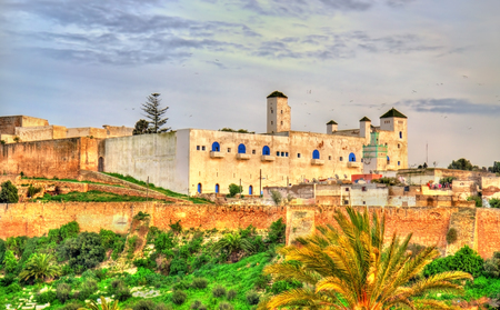 Cityscape of Safi, a city in western Morocco on the Atlantic Ocean Stock Photo
