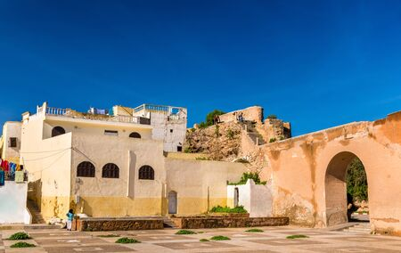 Houses in Azemmour town, Morocco