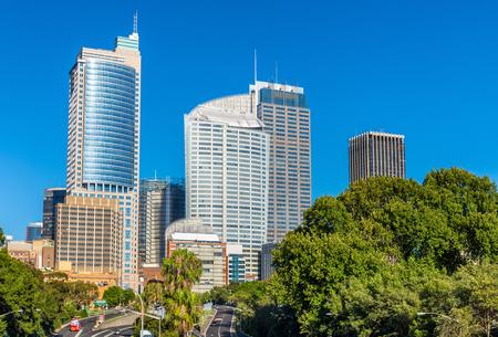 cahill: Skyline of Sydney central business district - Australia