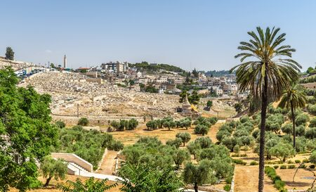 Church of All Nations in the Kidron Valley - Jerusalem, Israel Stock Photo