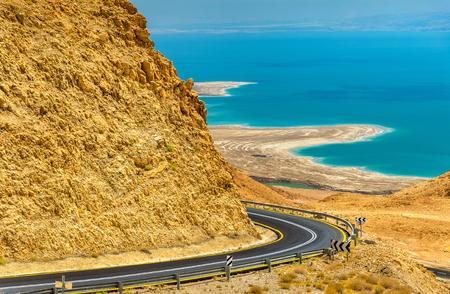 Road in Judaean Desert near Dead Sea - Israel