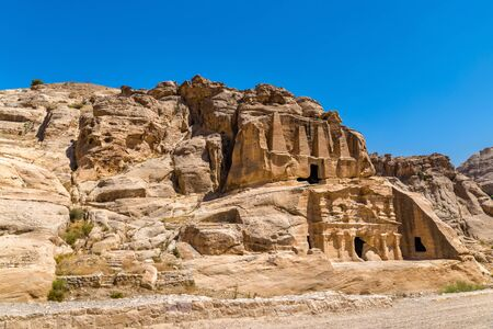 Obelisk Tomb and the Triclinium at Petra