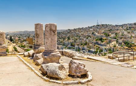 corinthian column: Ruins of the Amman Citadel