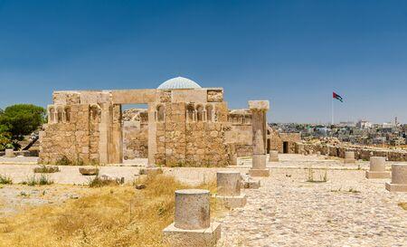 dome of the rock: Umayyad Palace at the Amman Citadel