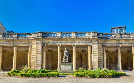gironde: Statue of Rosa Bonheur in the Public Garden of Bordeaux, France Stock Photo