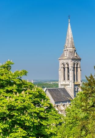 Saint Ausone Church in Angouleme - France, Charente