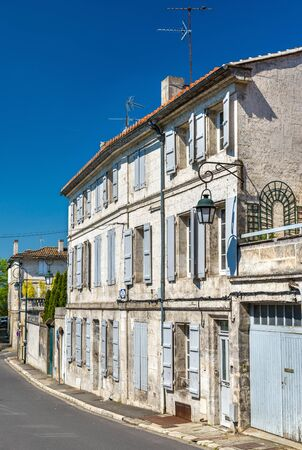 Historic buildings in Angouleme, France Stock Photo