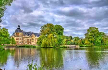 the loire: Chateau de Serrant in the Loire Valley, France