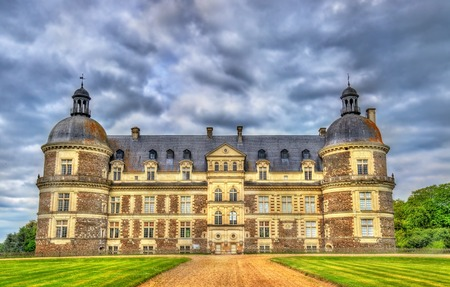 Chateau de Serrant in the Loire Valley, France