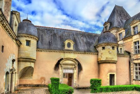Toussaint Abbey of Angers, France
