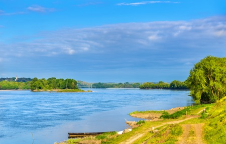 The Loire river between Angers and Saumur, France