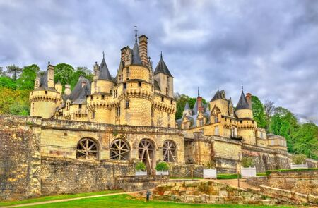 popular: Castle of Usse in the Loire Valley, France