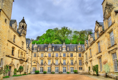 usse: Castle of Usse in the Loire Valley, France