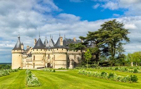 Chateau de Chaumont-sur-Loire, a castle in the Loire Valley of France 写真素材