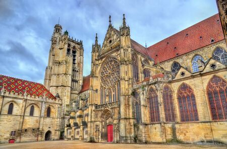 Saint Etienne Cathedral in Sens - France