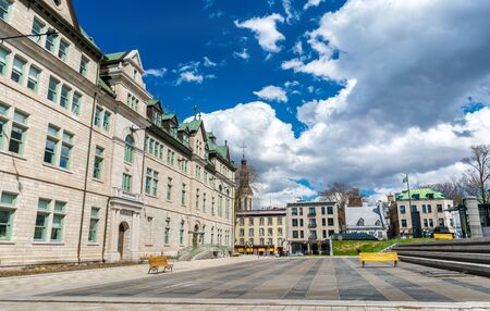 ville: City Hall of Quebec City in Canada