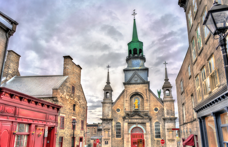 Notre Dame de Bon Secours Chapel in Montreal, Canada