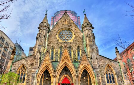 Christ Church Cathedral in Montreal - Quebec, Canada