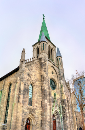 catholicism: St Patrick Basilica in Montreal - Quebec, Canada Stock Photo