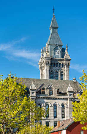 Erie County Hall, a historic city hall and courthouse building in Buffalo, New York